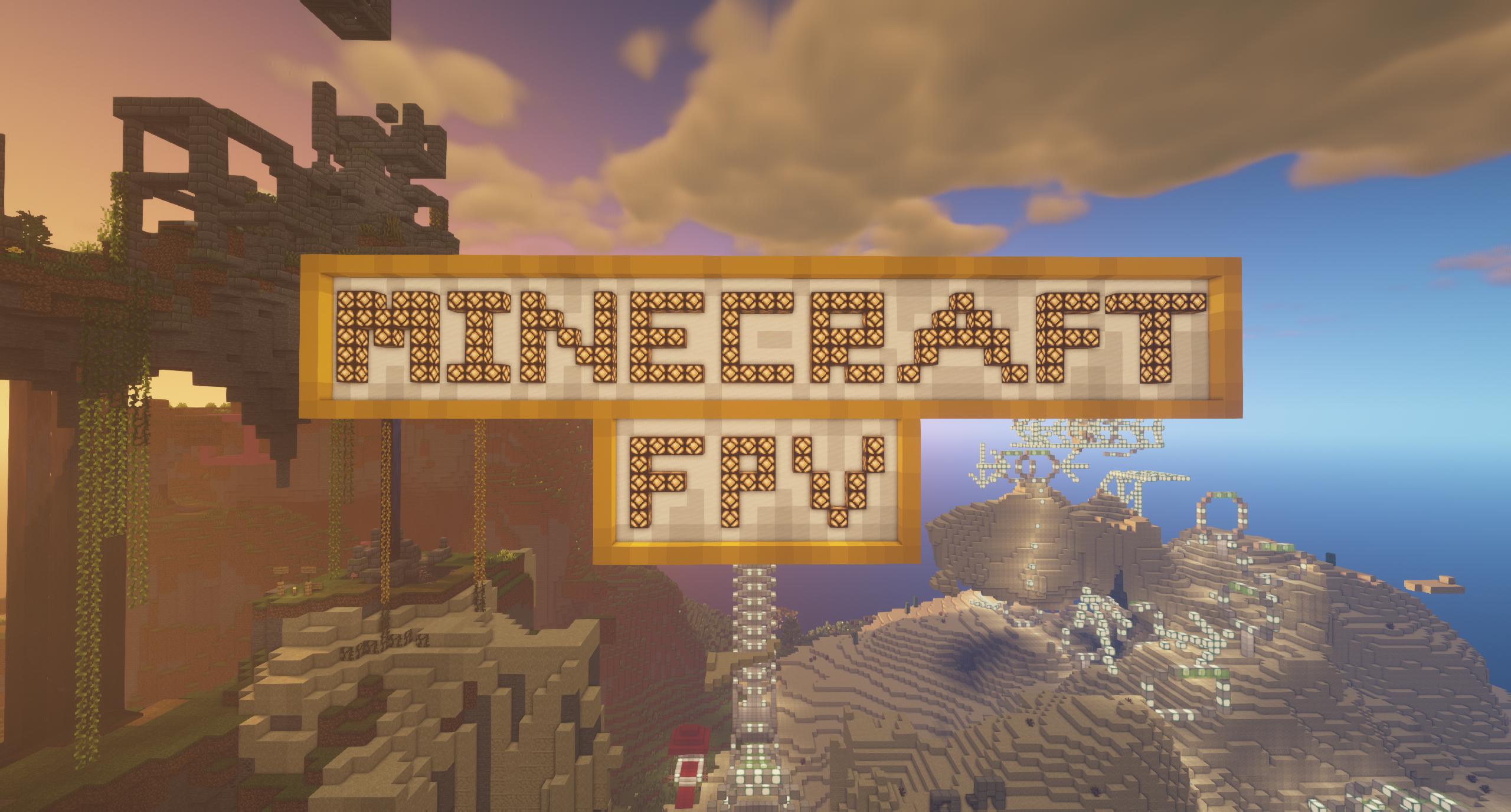 Minecraft FPV Server Spawn